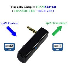 Tiny iAdapter aptX Stereo TRANSCEIVER