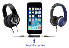 ny iAmplfier + Splitter Headphone Amplifer with Remote pass-through