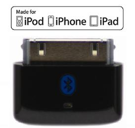 i10s black Tiny Bluetooth Transmitter for iPod, iPhone, iPad