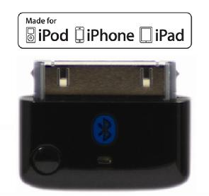 i10 black Tiny Bluetooth MULTI-STREAMING Bluetooth Transmitter for iPod, iPhone, iPad